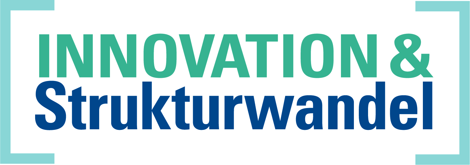 Logo Förderung Innovation und Strukturwandel